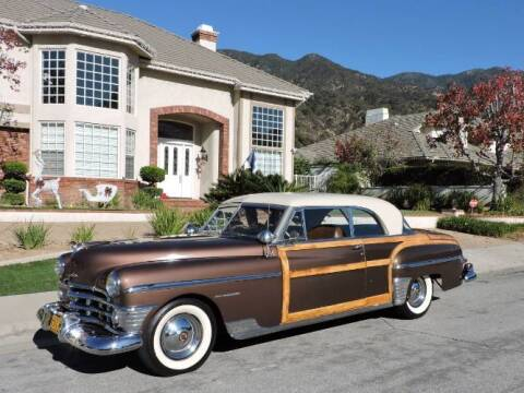 1950 Chrysler Town and Country for sale at Classic Car Deals in Cadillac MI