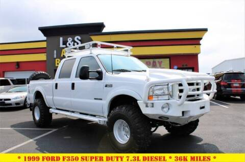1999 Ford F-350 Super Duty for sale at L & S AUTO BROKERS in Fredericksburg VA