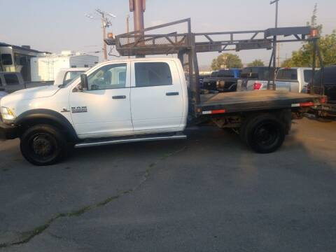 2013 RAM Ram Chassis 5500 for sale at Freds Auto Sales LLC in Carson City NV
