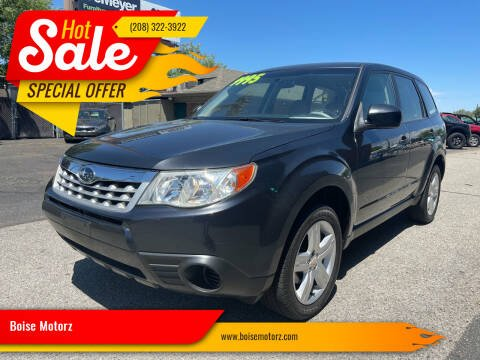 2012 Subaru Forester for sale at Boise Motorz in Boise ID