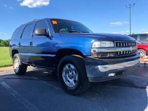 2002 Chevrolet Tahoe for sale at COUNTRYSIDE AUTO SALES 2 in Russellville KY