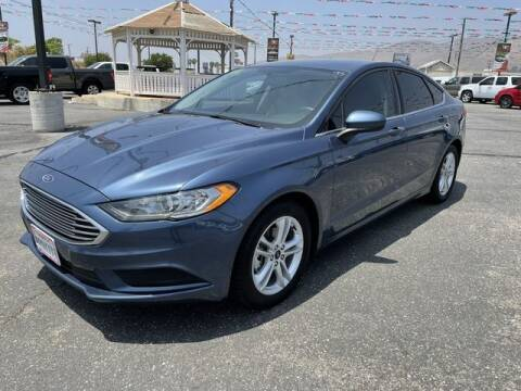 2018 Ford Fusion for sale at Los Compadres Auto Sales in Riverside CA