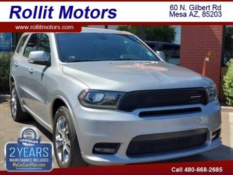 2019 Dodge Durango for sale at Rollit Motors in Mesa AZ