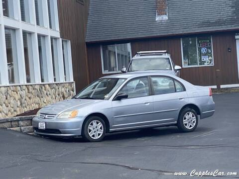 2003 Honda Civic for sale at Cupples Car Company in Belmont NH