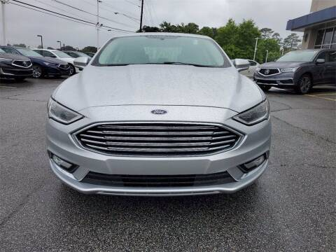 2017 Ford Fusion Hybrid for sale at Southern Auto Solutions - Acura Carland in Marietta GA