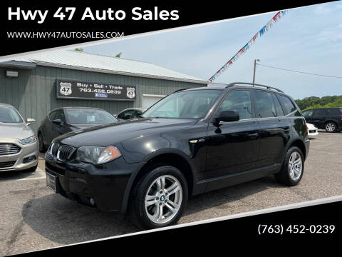 2006 BMW X3 for sale at Hwy 47 Auto Sales in Saint Francis MN