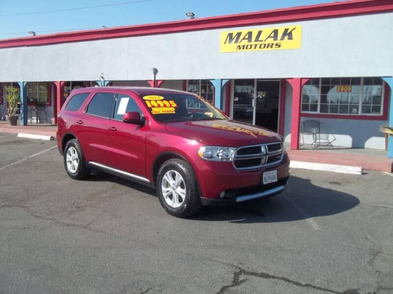 2013 Dodge Durango for sale at Atayas Motors INC #1 in Sacramento CA
