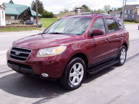 2009 Hyundai Santa Fe for sale at The Autobahn Auto Sales & Service Inc. in Johnstown PA