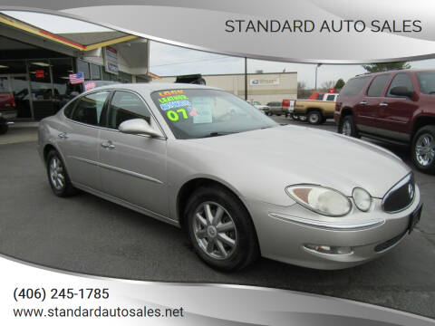 2007 Buick LaCrosse for sale at Standard Auto Sales in Billings MT