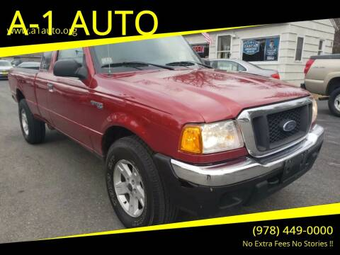 2004 Ford Ranger for sale at A-1 Auto in Pepperell MA