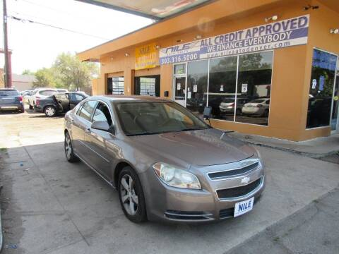 2010 Chevrolet Malibu for sale at Nile Auto Sales in Denver CO