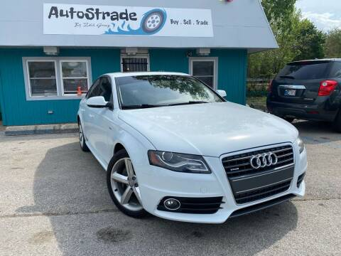2012 Audi A4 for sale at Autostrade in Indianapolis IN