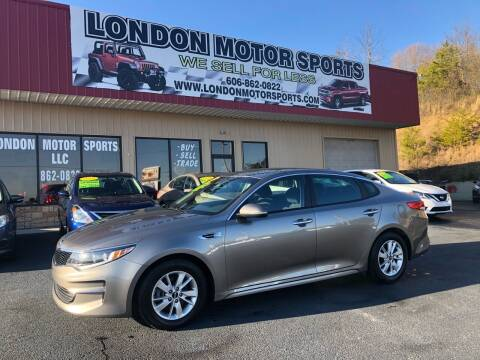 2016 Kia Optima for sale at London Motor Sports, LLC in London KY