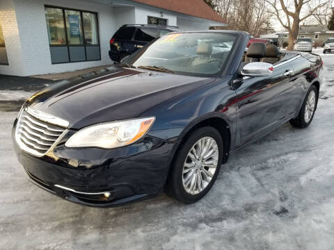 2011 Chrysler 200 Convertible for sale at Cedar Auto Group LLC in Akron OH
