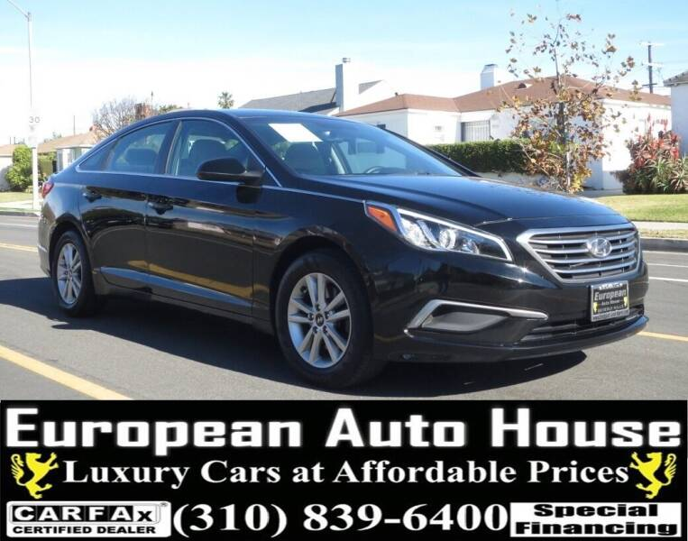 2017 Hyundai Sonata for sale at European Auto House in Los Angeles CA