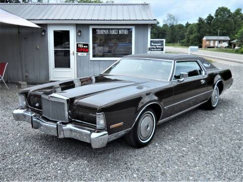 1973 Lincoln Mark IV for sale at THOMPSON FAMILY MOTORS in Senecaville OH