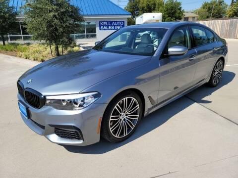 2018 BMW 5 Series for sale at Kell Auto Sales, Inc - Grace Street in Wichita Falls TX