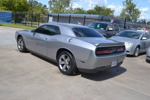 2016 Dodge Challenger for sale at Preferable Auto LLC in Houston TX