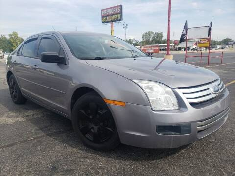 2007 Ford Fusion for sale at speedy auto sales in Indianapolis IN