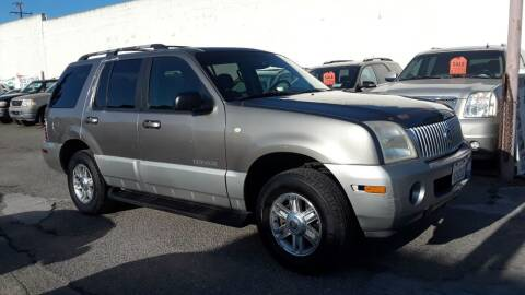 2002 Mercury Mountaineer for sale at Goleta Motors in Goleta CA