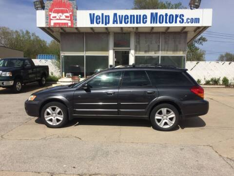 2007 Subaru Outback for sale at Velp Avenue Motors LLC in Green Bay WI