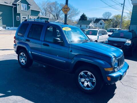 2005 Jeep Liberty for sale at SHEFFIELD MOTORS INC in Kenosha WI