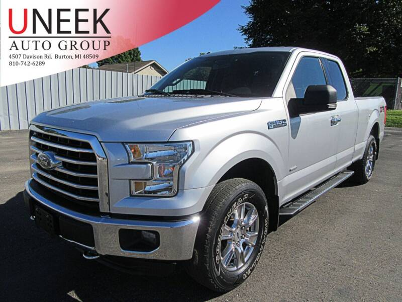 2016 Ford F-150 for sale at Uneek Auto Group LLC in Burton MI