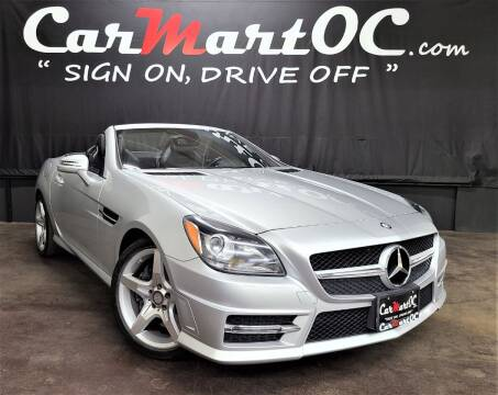 2013 Mercedes-Benz SLK for sale at CarMart OC in Costa Mesa, Orange County CA