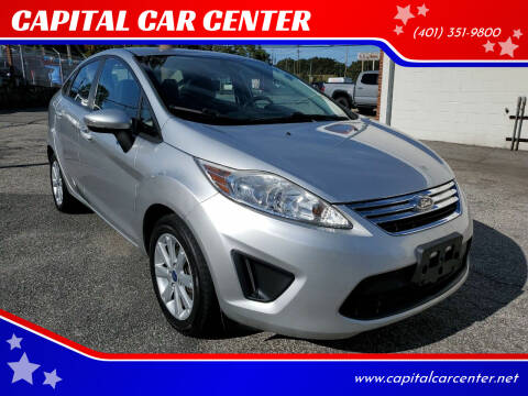 2013 Ford Fiesta for sale at CAPITAL CAR CENTER in Providence RI