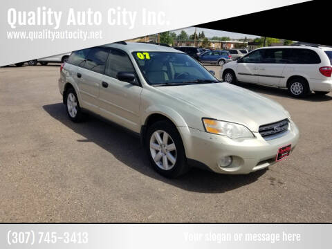 2007 Subaru Outback for sale at Quality Auto City Inc. in Laramie WY