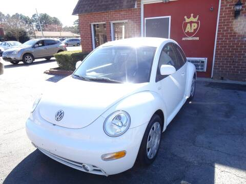 2000 Volkswagen New Beetle for sale at AP Automotive in Cary NC