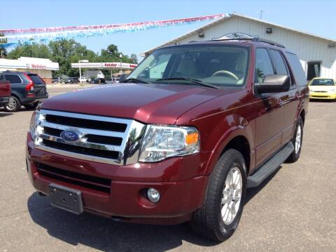2012 Ford Expedition for sale at Steves Auto Sales in Cambridge MN