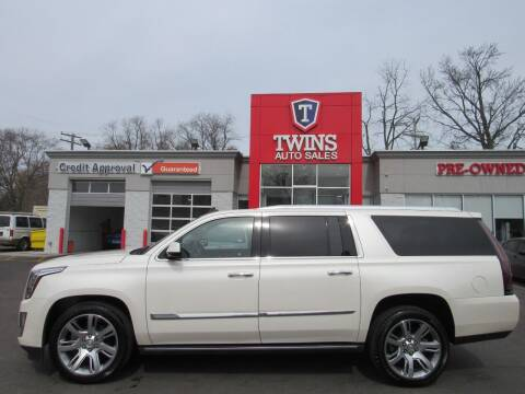2015 Cadillac Escalade ESV for sale at Twins Auto Sales Inc in Detroit MI