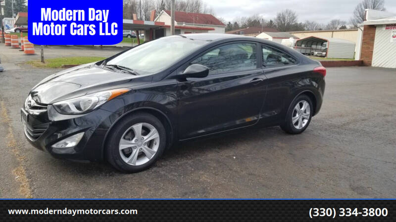 2013 Hyundai Elantra Coupe for sale at Modern Day Motor Cars LLC in Wadsworth OH