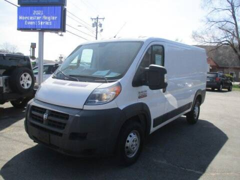 2016 RAM ProMaster Cargo for sale at Mill Street Motors in Worcester MA