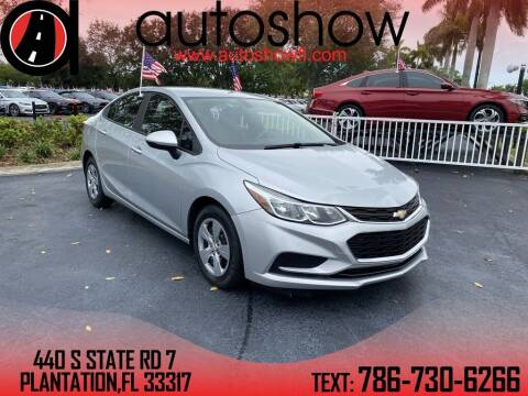 2017 Chevrolet Cruze for sale at AUTOSHOW SALES & SERVICE in Plantation FL