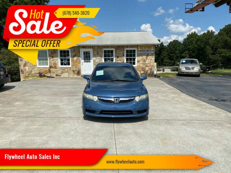 2010 Honda Civic for sale at Flywheel Auto Sales Inc in Woodstock GA
