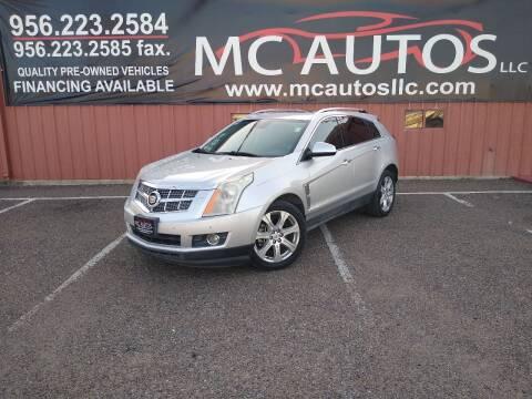 2011 Cadillac SRX for sale at MC Autos LLC in Pharr TX