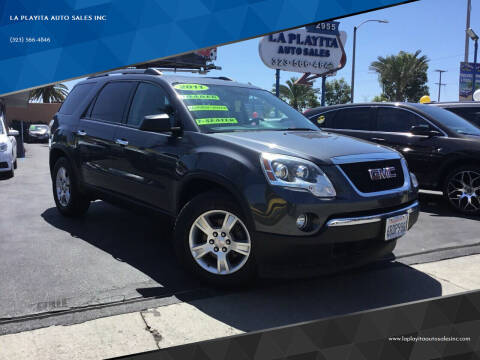 2011 GMC Acadia for sale at 2955 FIRESTONE BLVD in South Gate CA