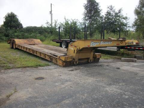 2001 Eager Beaver 35 Ton Lowboy for sale at Classics Truck and Equipment Sales in Cadiz KY