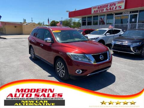 2014 Nissan Pathfinder for sale at Modern Auto Sales in Hollywood FL