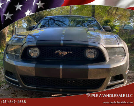 2013 Ford Mustang for sale at Triple A Wholesale llc in Eight Mile AL
