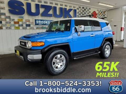2007 Toyota FJ Cruiser for sale at BROOKS BIDDLE AUTOMOTIVE in Bothell WA