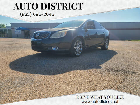 2013 Buick Verano for sale at Auto District in Baytown TX
