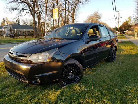 2010 Ford Focus for sale at RBM AUTO BROKERS in Alsip IL