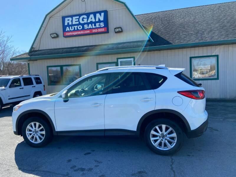 2014 Mazda CX-5 for sale at Mark Regan Auto Sales in Oswego NY