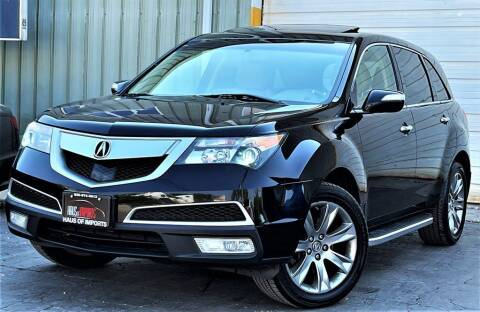 2012 Acura MDX for sale at Haus of Imports in Lemont IL