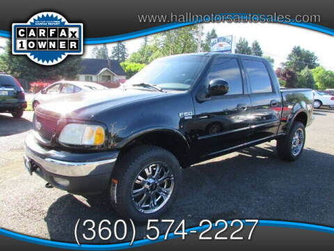 2002 Ford F-150 for sale at Hall Motors LLC in Vancouver WA