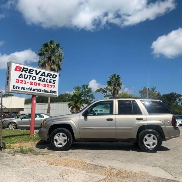 2002 Chevrolet TrailBlazer LS 2WD 4dr SUV - Palm Bay FL