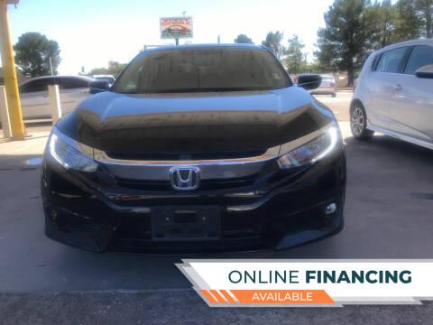 2016 Honda Civic for sale at Fiesta Motors Inc in Las Cruces NM